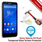 Premium Sony Xperia E4 Dual Tempered Glass Screen Protector