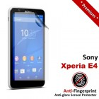 Premium Matte Anti-Fingerprint Sony Xperia E4 Screen Protector
