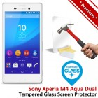 Premium Sony Xperia M4 Aqua Dual Tempered Glass Screen Protector