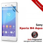 Premium Matte Anti-Fingerprint Sony Xperia M4 Aqua Screen Protector