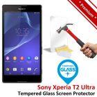 Premium Sony Xperia T2 Ultra Tempered Glass Screen Protector