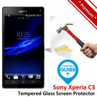 Premium Sony Xperia C3 Tempered Glass Screen Protector
