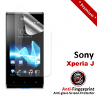 Premium Matte Anti-Fingerprint Sony Xperia J Screen Protector