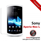 Premium Matte Anti-Fingerprint Sony Xperia Neo L Screen Protector