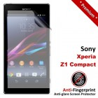 Premium Matte Anti-Fingerprint Sony Xperia Z1 Compact Screen Protector