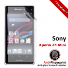 Premium Matte Anti-Fingerprint Sony Xperia Z1 Mini Screen Protector