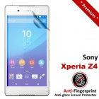 Premium Matte Anti-Fingerprint Sony Xperia Z4 Screen Protector
