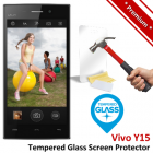 Premium Vivo Y15 Tempered Glass Screen Protector