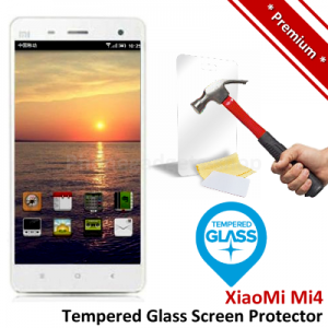Premium Xiaomi Mi4 Mi 4 M4 Tempered Glass Screen Protector