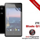 Premium Matte Anti-Fingerprint ZTE Blade Q1 Screen Protector