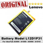 Original Lenovo IdeaTab A3000 A1000 A5000 A1010 Battery Model L12D1P31
